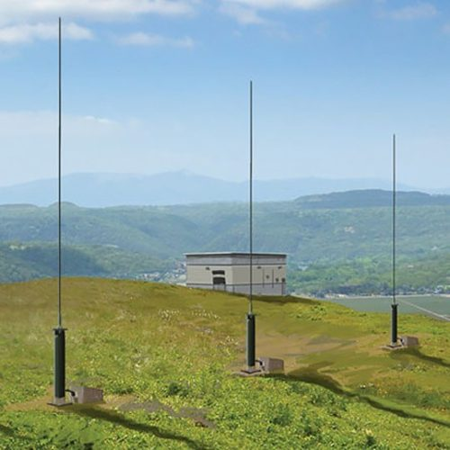 TCI Model 632 Monopole HF DF and Spectrum Monitoring Antenna
