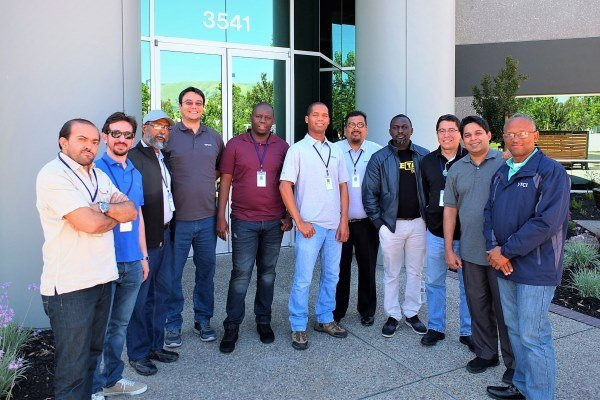 Field service engineers completed spectrum monitoring and management training