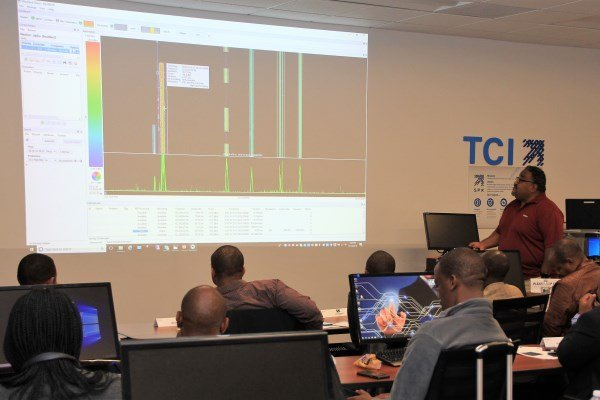 Seminar delegates discovered spectrum monitoring and mapping