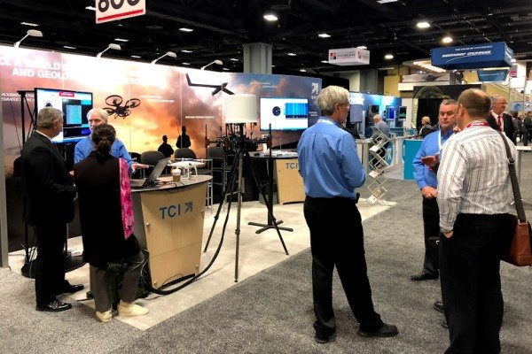 TCI COMINT display at the 55th AOC Symposium